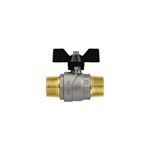 Progress M-M ball valve with butterfly handle