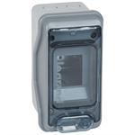plexo³ cabinet- ip 65 - ik 09 - 2 (+1) modules - 1 row