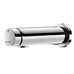 741500  wall-mounted time flow basin tap temposoft 2