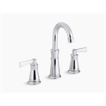 K-11076-4 Archer® Widespread Bathroom Sink Faucet with Lever Handles