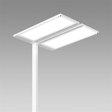 Lightpad LED Freestanding 3000K Europe Two Head S2U2000 mm