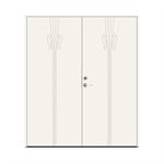 Exterior Door Character Note Double
