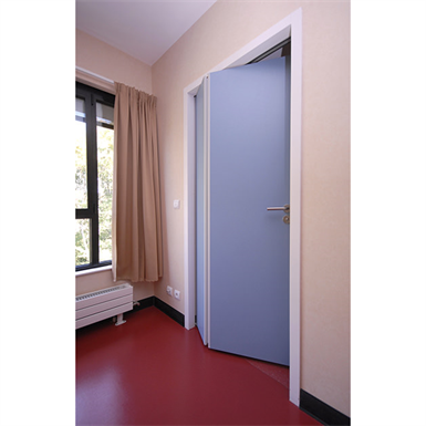ESA - Single-acting space-saving folding door waterproof