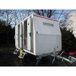 4-person construction trailer