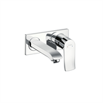 Metris Single lever basin mixer for concealed installation wall-mounted with spout 16.5 cm 31085000