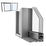slidingdoor double upvc-alu internorm ks430 a