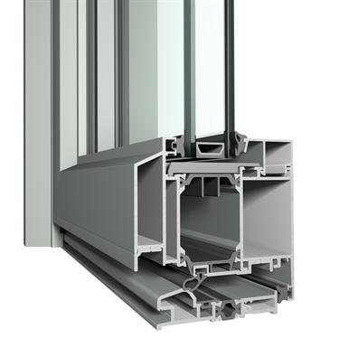 reynaers - window door - slimline 38