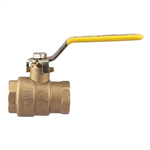 2-Piece, Full Port, Brass Ball Valves - FBV-3C, FBVS-3C