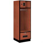 30000 Series Designer Wood Open Access Lockers