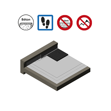 Systems for accessible roof parking with covered bituminous protection
