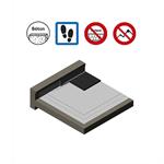 systèmes pour toitures accessibles parking avec protection en enrobé bitumineux