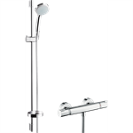 Croma 100 Shower system for exposed installation 27033000