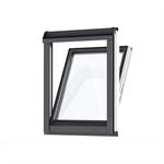fenêtre verticale pour verrières d'angle (à coupler avec ggl/ggu, gpl/gpu), finition bois (vfe)