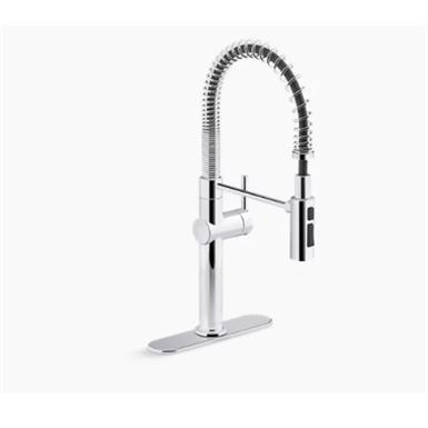 crue™ single-handle semi-professional kitchen sink faucet