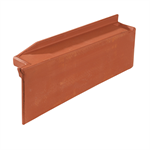 Q11 - Straight right side course / Rake - Mixed roof tile