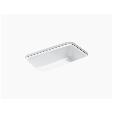 """bakersfield™ 31"""" x 22"""" x 8-5/8"""" under-mount single-bowl kitchen sink with 5 faucet holes"""