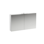 BASE Mirror cabinet with light and power socket CH IP 44 1200 mm