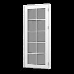 Formaplus Premium terrace door with glazing bars outward