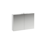 BASE Mirror cabinet with light and power socket CH IP 44 1000 mm