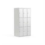 Compartment Locker Classic, 900 mm, 3 Sections, 9 Doors