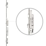 2-sash front door with genius and panic function, drive on active sashes