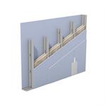 w115.de knauf metallständerwand - doppelständerwerk, zweilagig beplankt