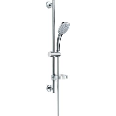 idealrain cube ensemble de douche barre 90 cm avec douchette 10 cm, 3 jets