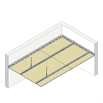 4.2.3 CEILINGS - Suspended single frame TF