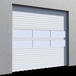 industrial door mix infill vertical lift