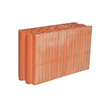 Perforated Brick, 11 cm, with Tongue and Groove joint