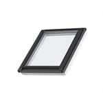 fenêtre de toit fixe pour verrières planes (à coupler avec ggl/ggu, gpl/gpu), finition blanche (giu)