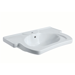 Washbasin with grab bar