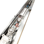 automatic sliding door, el301 single sliding wall-hosted