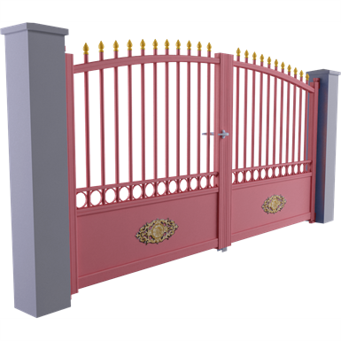 tradition line - gourdon swinging gate model