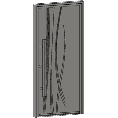 entrance door collection caractère cobée