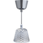 candy light ceiling lamp 1l small size chrome