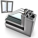 Dritare të dyfishtë UPVC-ALU INTERNORM KF310 3