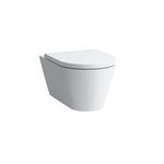 KARTELL BY LAUFEN Wall hanging Water Closet Bowl, rimless, washdown