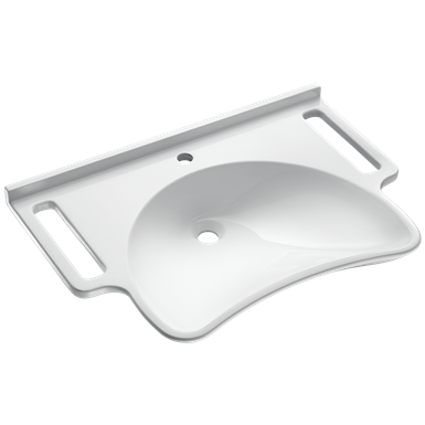 132306  wall-mounted mineralcast pmr washbasin
