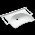 132306  wall-mounted mineralcast pmr washbasin