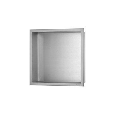 Wall niche BOX stainless steel  (10 cm)