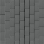 groot formaat losange (333 mm x 600 mm, verticaal, prepatina graphite-grey)