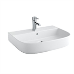 Mid Wash-basin 600x450, wall-hung, pedestal or semi-pedestal