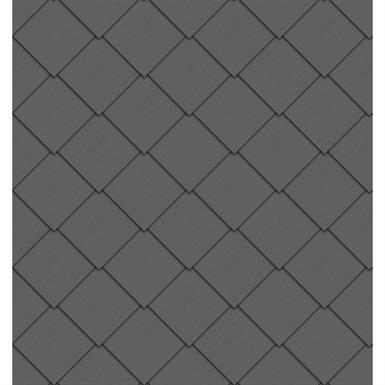 quadratraute fassade (325 mm x 325 mm, prepatina schiefergrau)