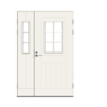 Exterior Door Function F1848 W71 Double Unequal