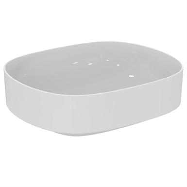 linda-x vessel basin 45cm, no tap holes, no overflow