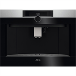 AEG BI Coffee machine 46*60 Horizon Line Stainless steel with antifingerprint