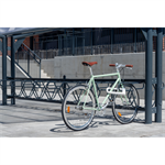 DELTA Bicycle Rack left 45° single sided 3,0m CC600mm 5 bicycles