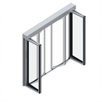 automatic folding door fft flex green