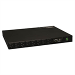 1.4kW Single-Phase Switched PDU with LX Platform Interface, 120V Outlets (16 5-15R), 5-15P, 100-127V Input, 12ft Cord, 1U Rack-Mount, TAA